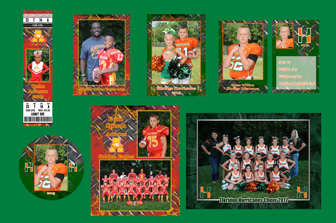 footballl & cheer website